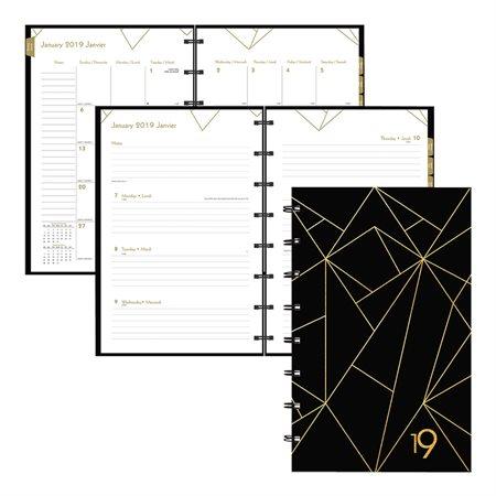 Agenda collection or hebdomadaire/mensuel (2019)