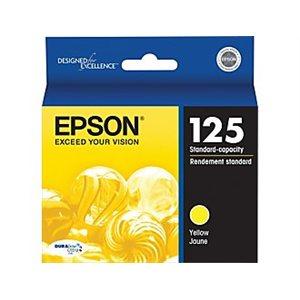 TONER+ EPSON T125420 JAUNE