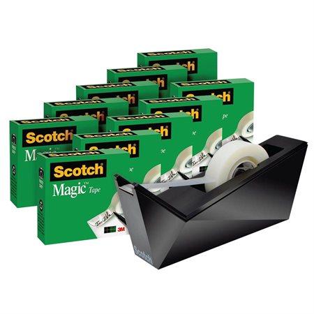 Paquet prime de rubans Scotch® Magic™ avec dévidoir C-17