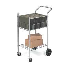 Chariot pour le courrier