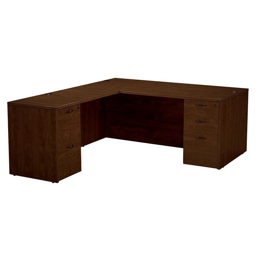 bureau en l napa type 9. Black Bedroom Furniture Sets. Home Design Ideas