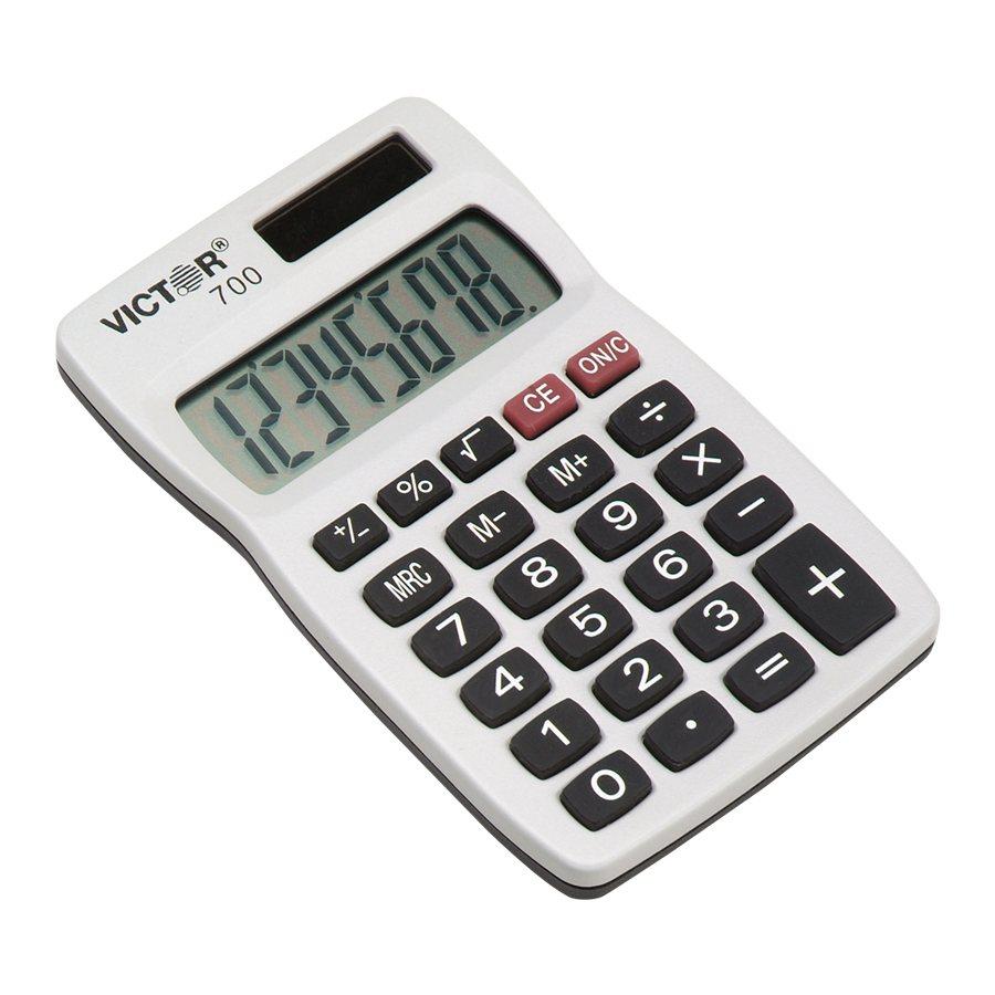 Calculatrice de poche 700 for Calculatrice prix