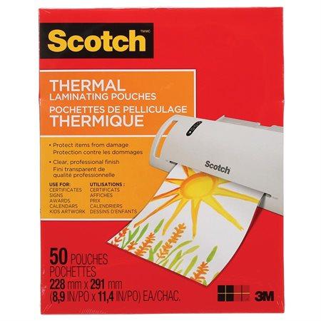 pochette de plastification thermique scotch. Black Bedroom Furniture Sets. Home Design Ideas