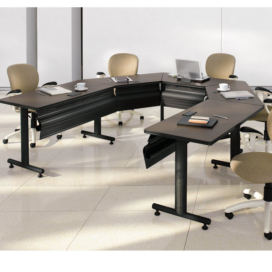 table de conf rence connectables. Black Bedroom Furniture Sets. Home Design Ideas