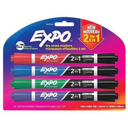 2 in 1 Dry Erase Whiteboard Marker
