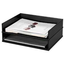 """""""Midnight Black"""" desktop accessories"""